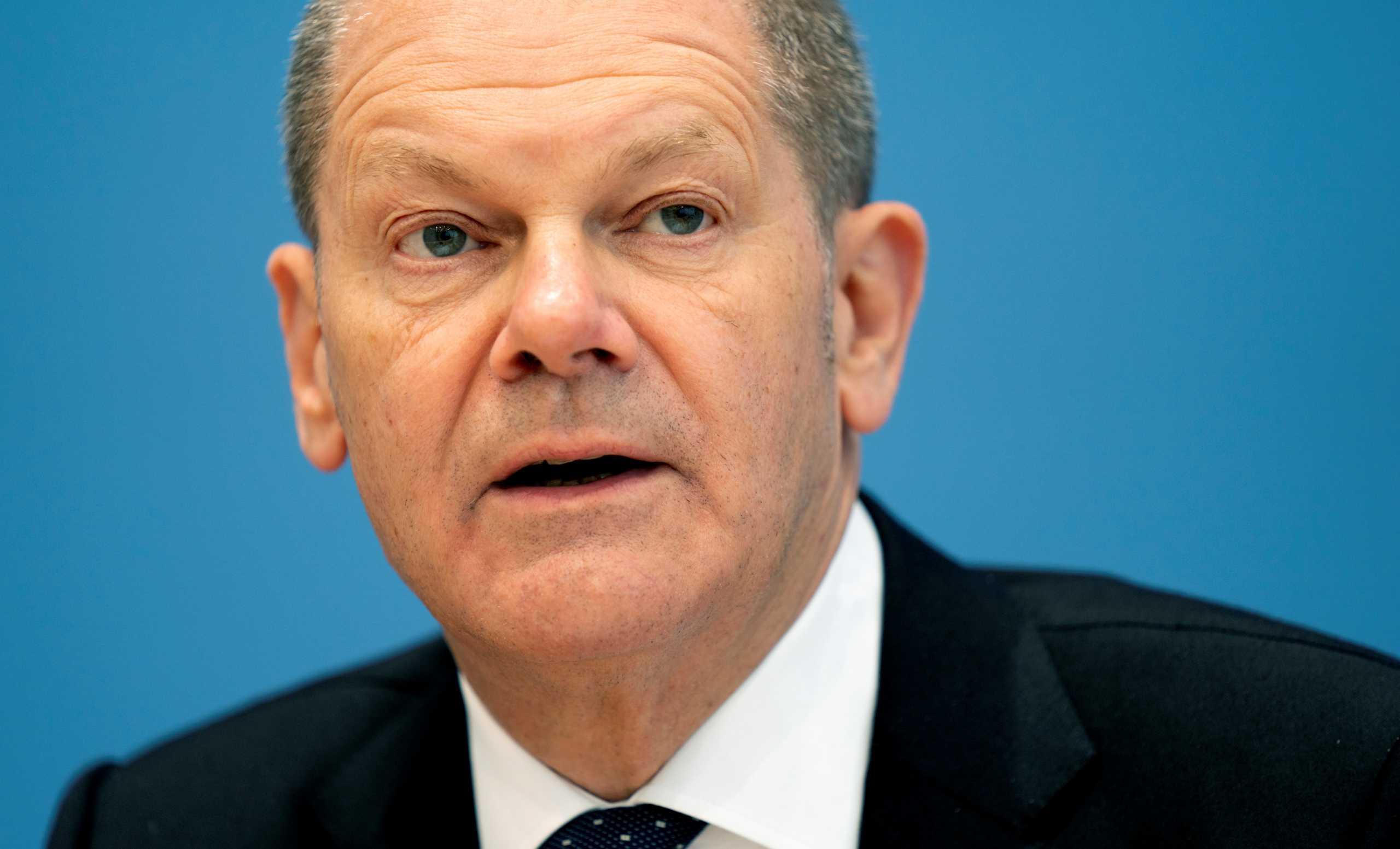 Γερμανία: Ο Όλαφ Σολτς εκτιμά ότι θα υπάρξει μεγάλη ανάκαμψη των οικονομιών μόλις βελτιωθεί η κατάσταση με τον κορονοϊό