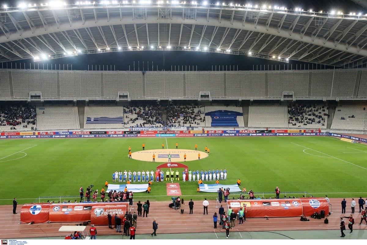 Στο ΟΑΚΑ το Ελλάδα – Σουηδία για τα προκριματικά του Παγκοσμίου Κυπέλλου