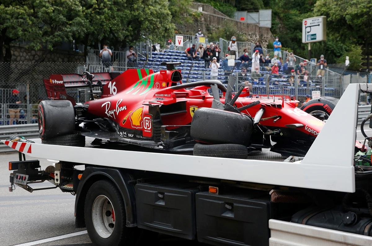 Formula 1: Ο Λεκλέρκ από τις μπαριέρες στην pole position στο Μονακό