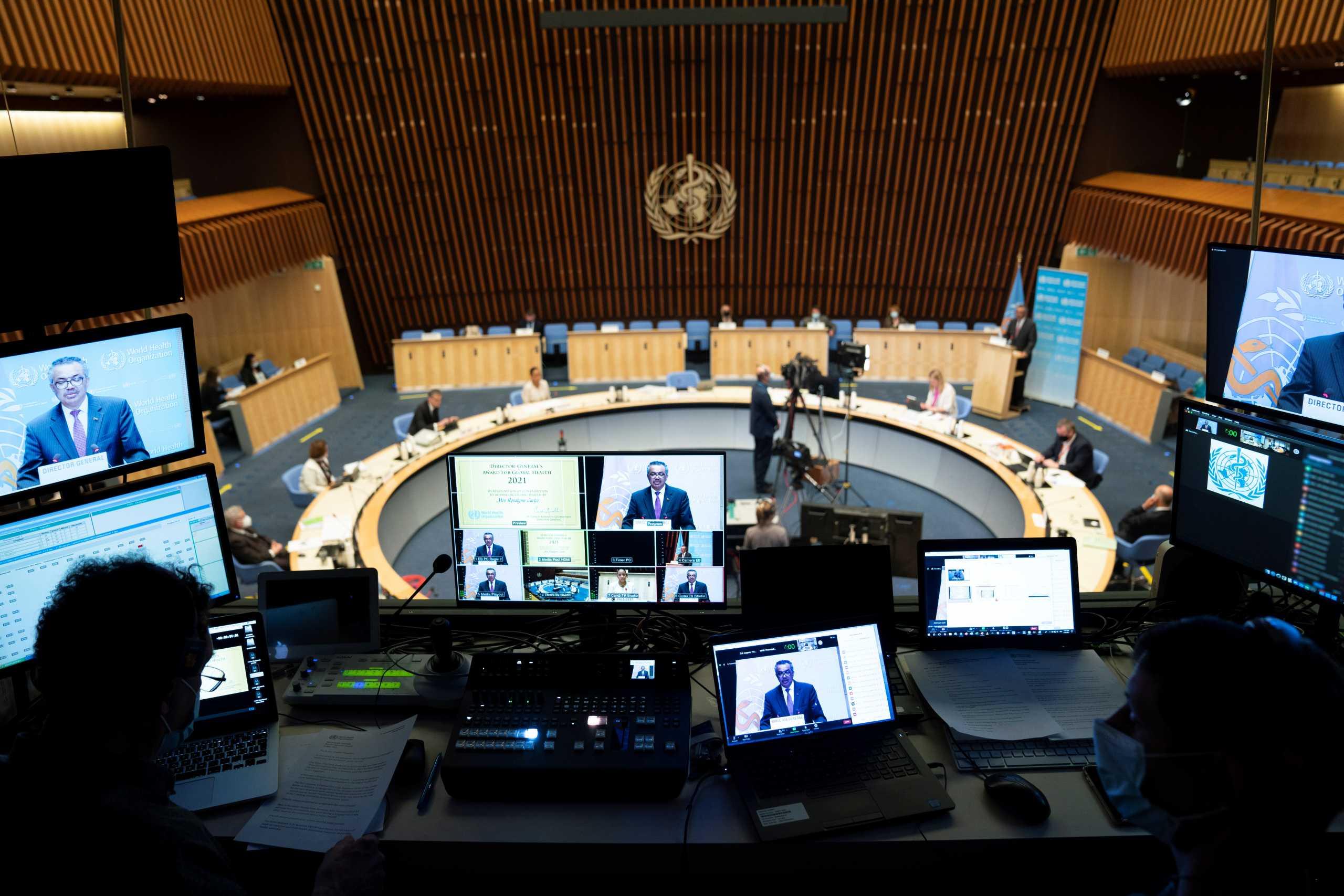 Διάσκεψη ΠΟΥ: Σκέψεις για μια νέα συνθήκη για την αντιμετώπιση των πανδημιών