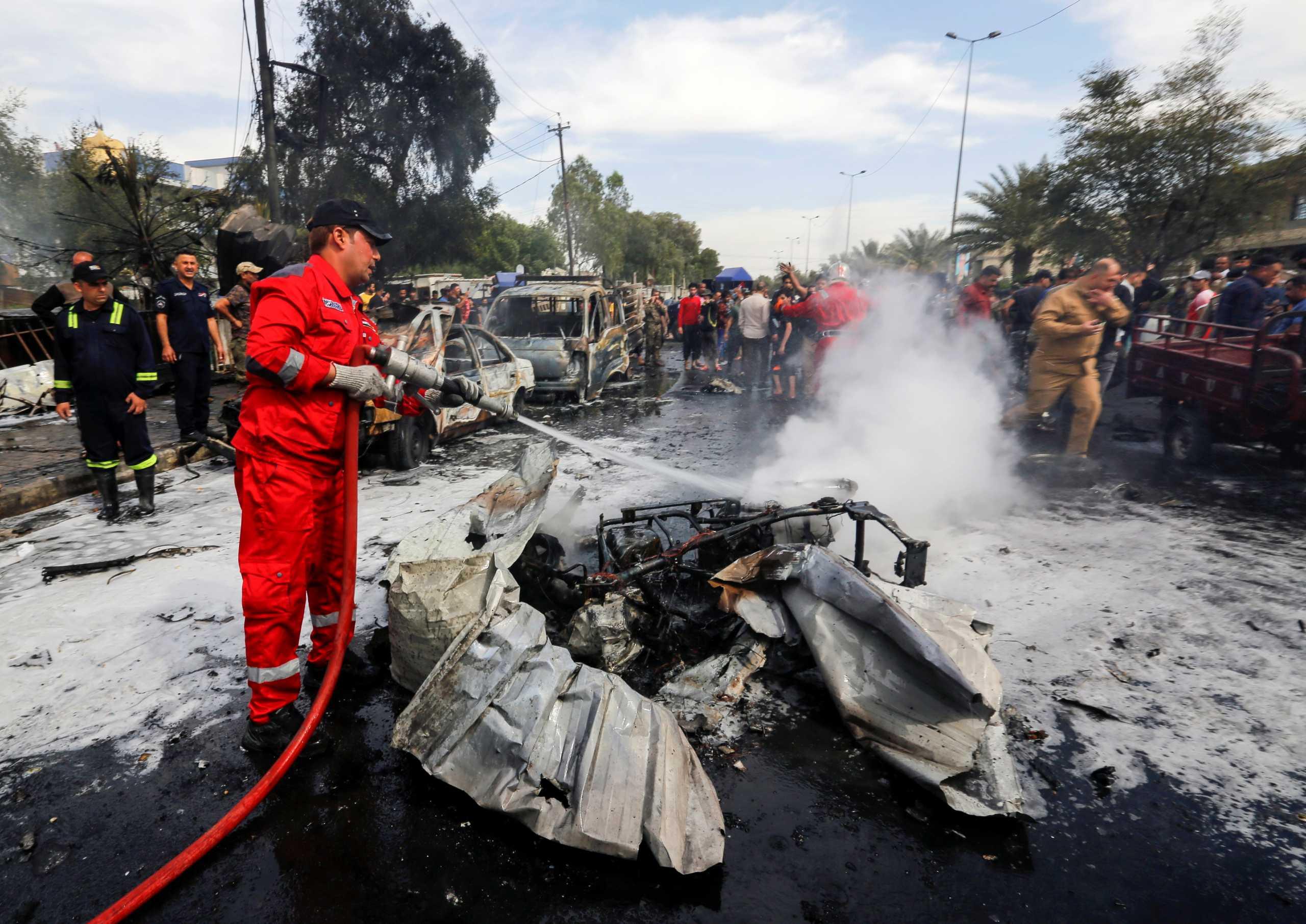 Δύο ρουκέτες έπεσαν στο Διεθνές Αεροδρόμιο της Βαγδάτης