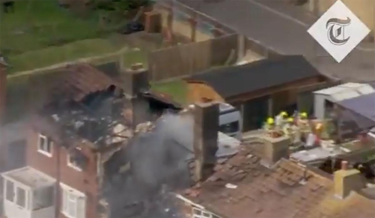 Απίστευτη έκρηξη ισοπέδωσε σπίτι στο Κεντ