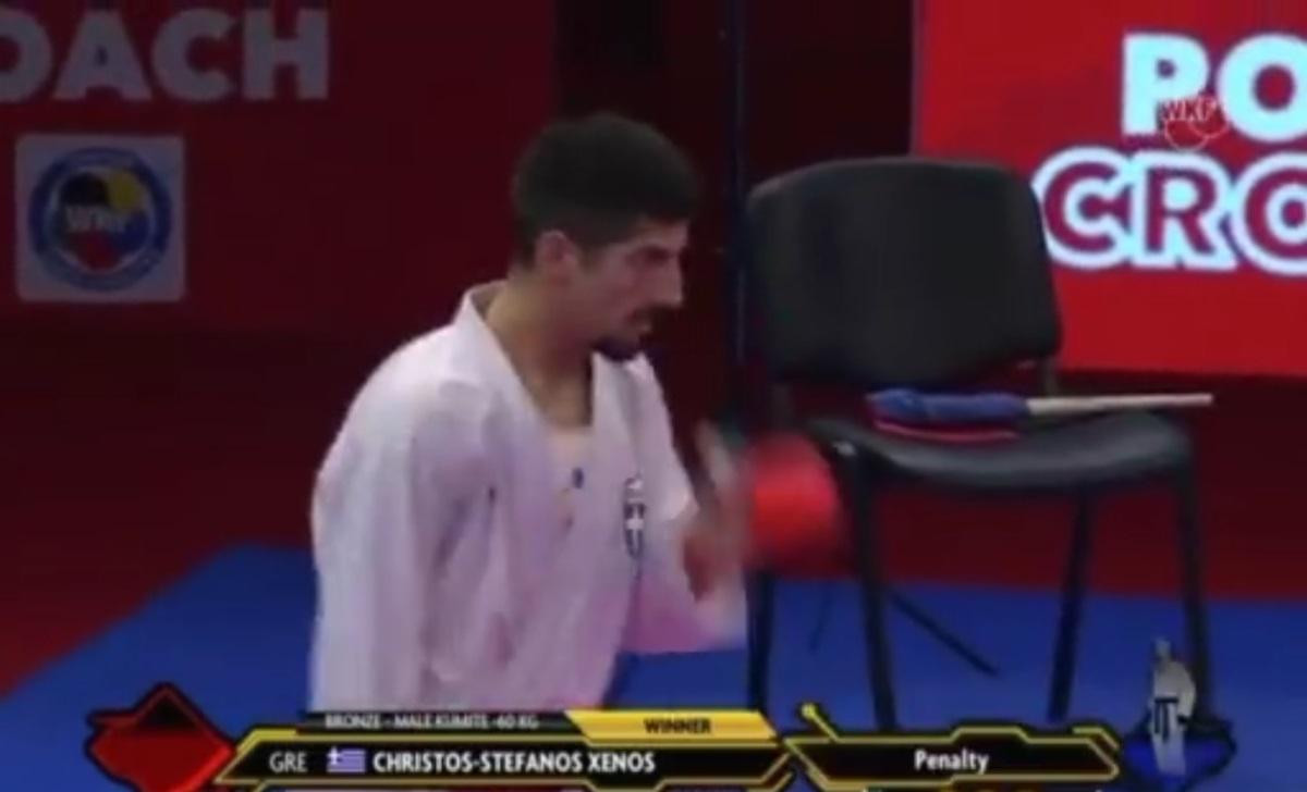 Χάλκινο μετάλλιο ο Ξένος – Ασημένιο η Πανετσίδου στο Ευρωπαϊκό