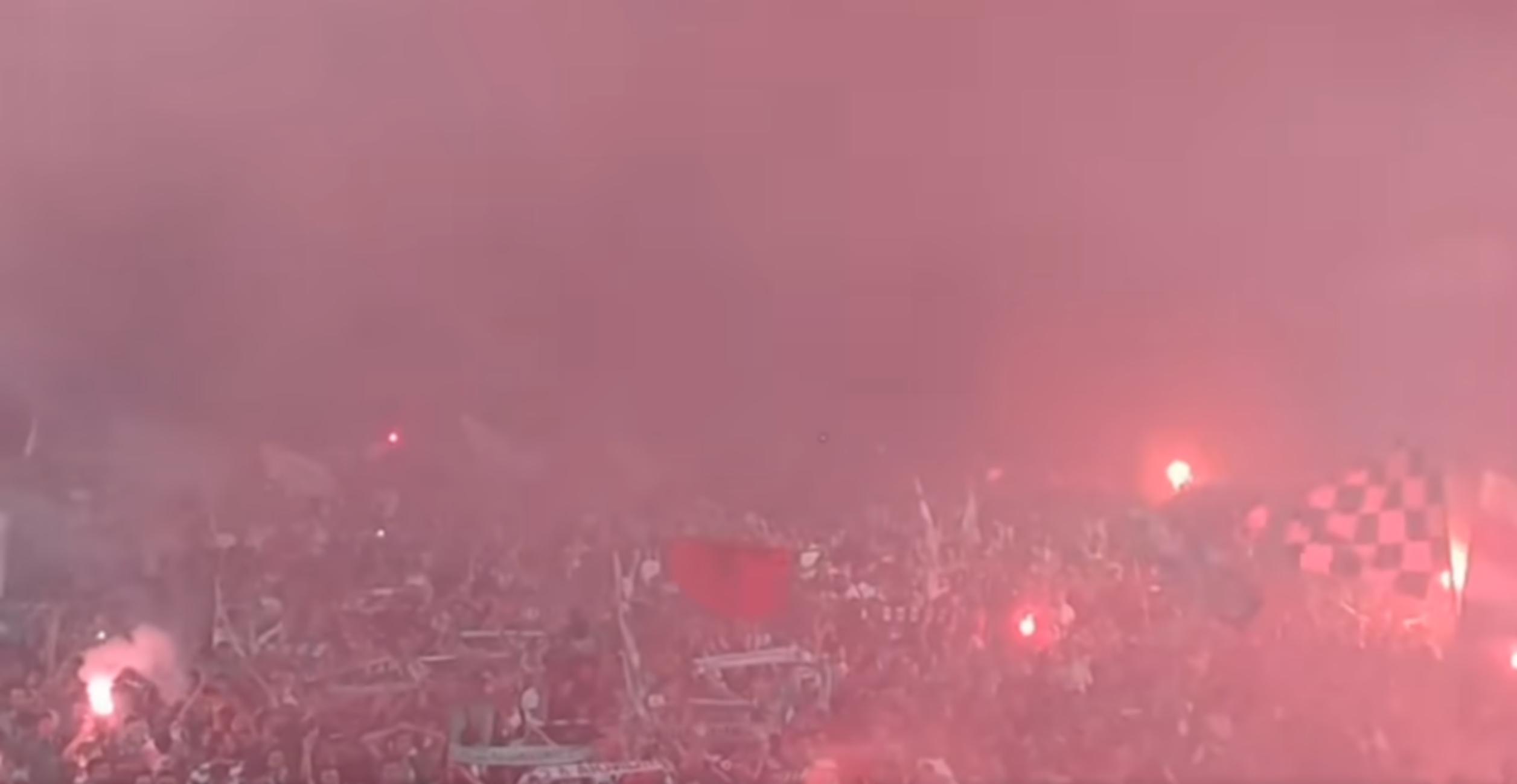 Οπαδοί της Ομόνοιας έβαλαν «φωτιά» στη Λευκωσία