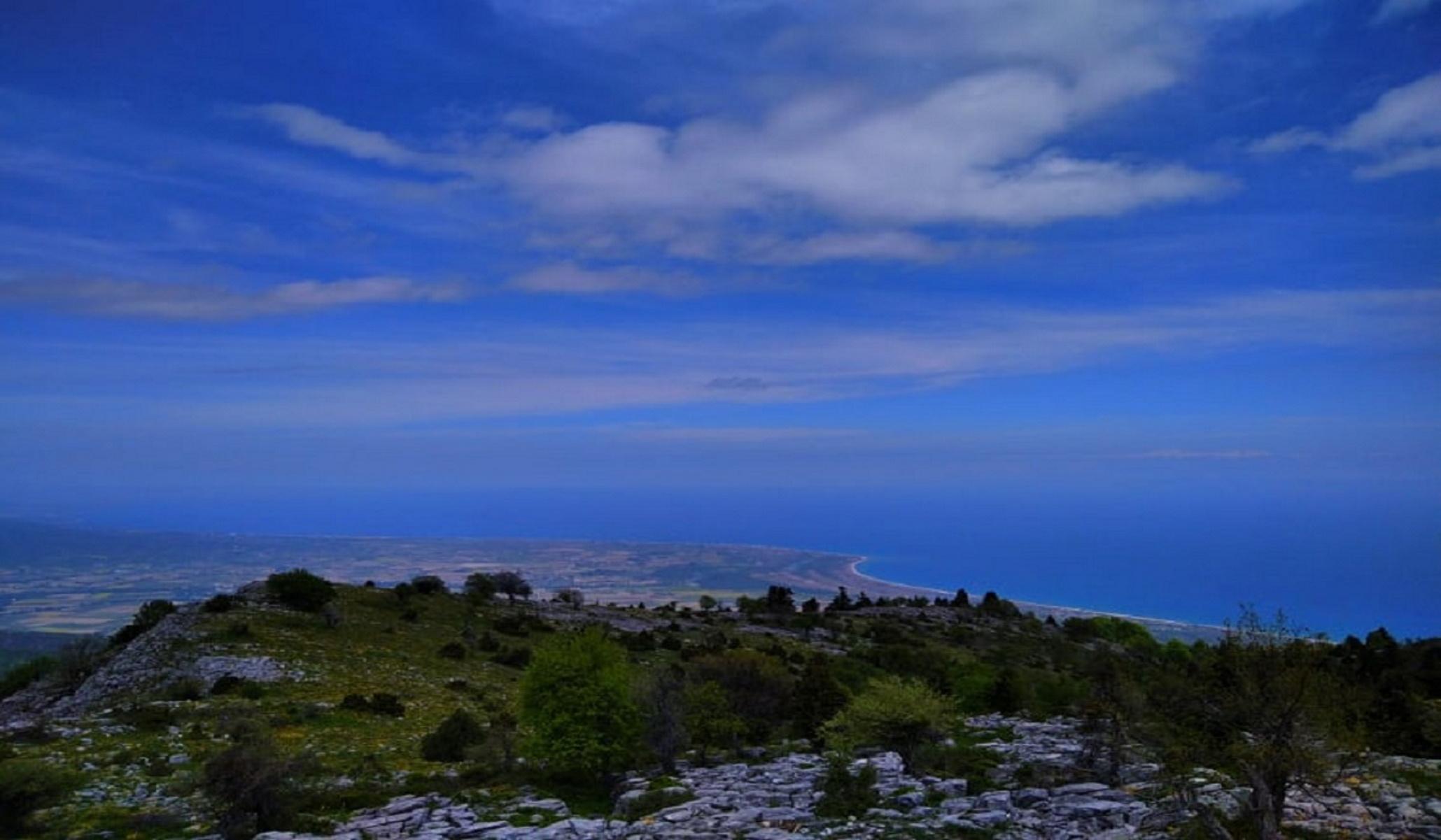 Ο Κίσσαβος «αγναντεύει» τον Θερμαϊκό – Όμορφες εικόνες που σε ταξιδεύουν (pics, vid)