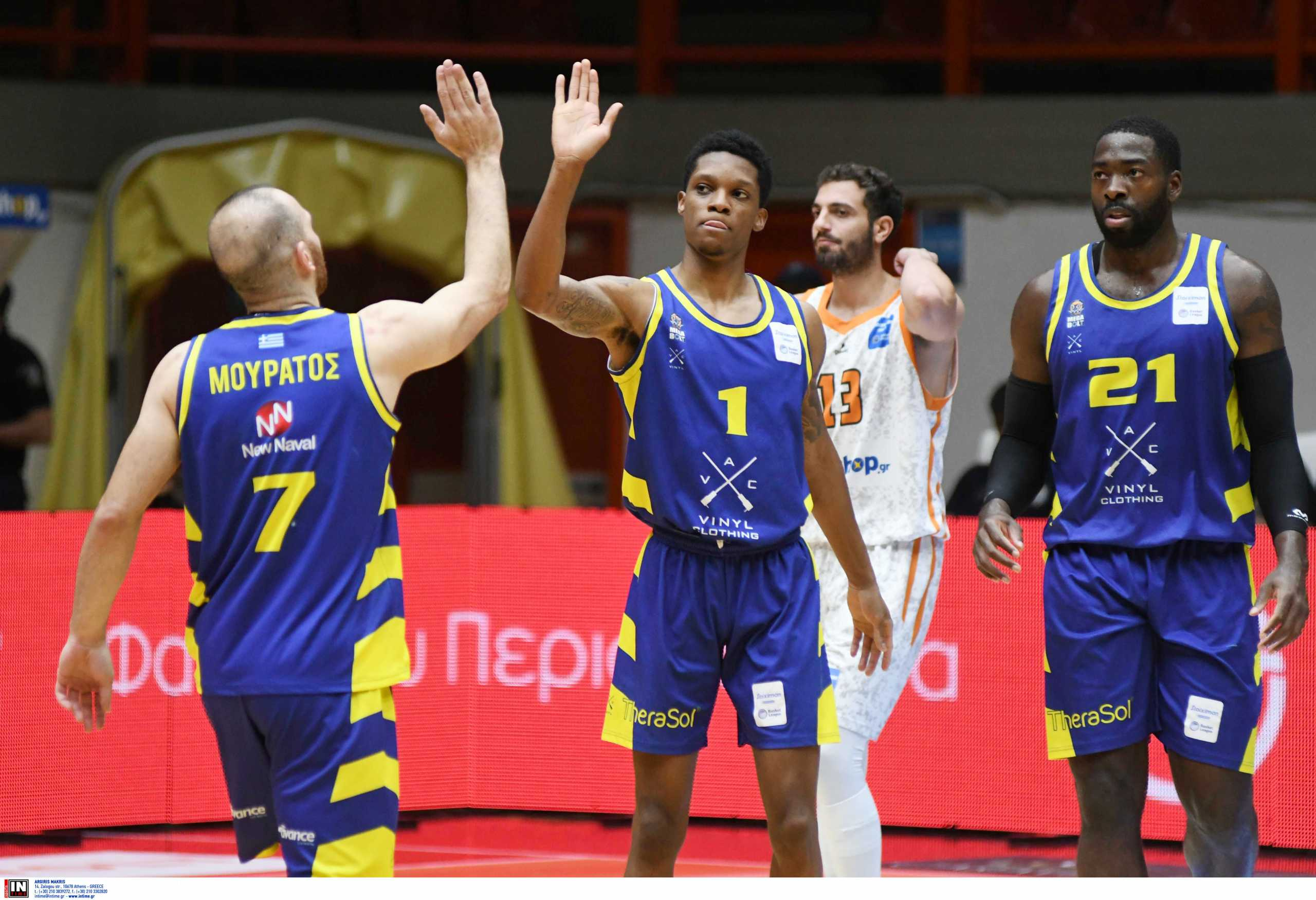 Basket League: Μπρέικ το Λαύριο στην Πάτρα και στα «σχοινιά» ο Προμηθέας