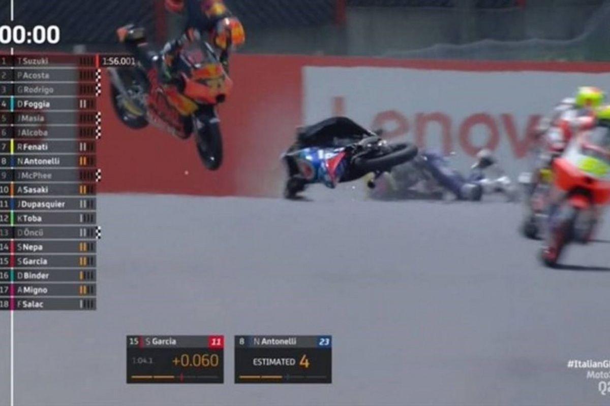 Moto3: Σοβαρό ατύχημα για Ντουπασκιέ – Μεταφέρθηκε με ελικόπτερο σε νοσοκομείο