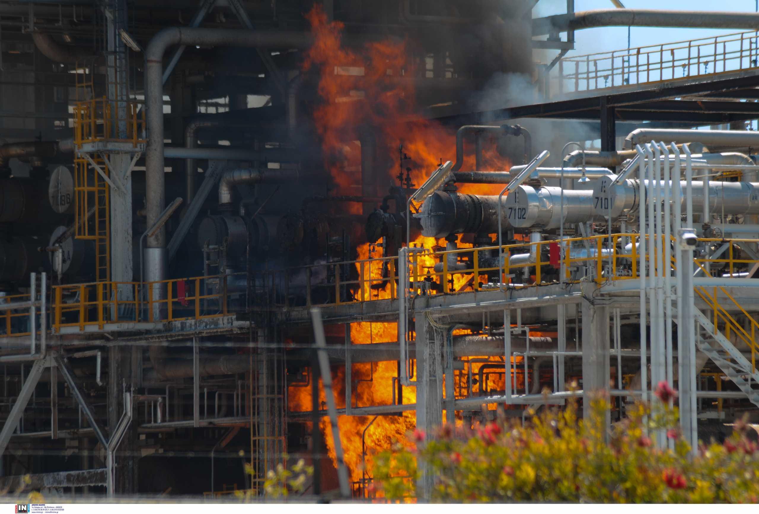 Φωτιά στην Motor Oil – Κατασβέστηκε άμεσα (pics)