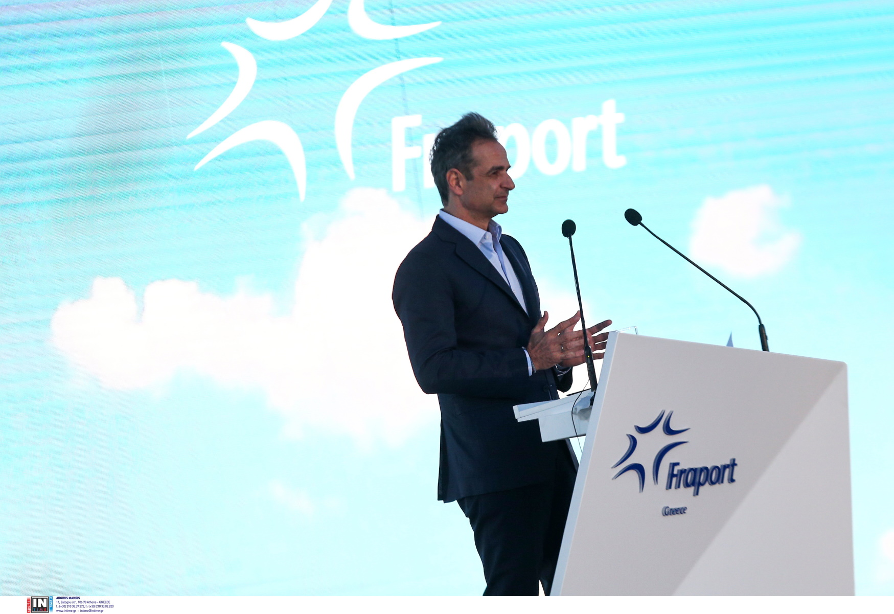 Ο Κυριάκος Μητσοτάκης εγκαινίασε τα 14 αναβαθμισμένα αεροδρόμια της Fraport (video)