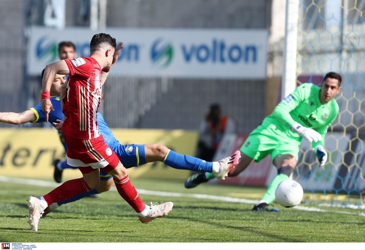 Αστέρας Τρίπολης – Ολυμπιακός 0-0 ΤΕΛΙΚΟ