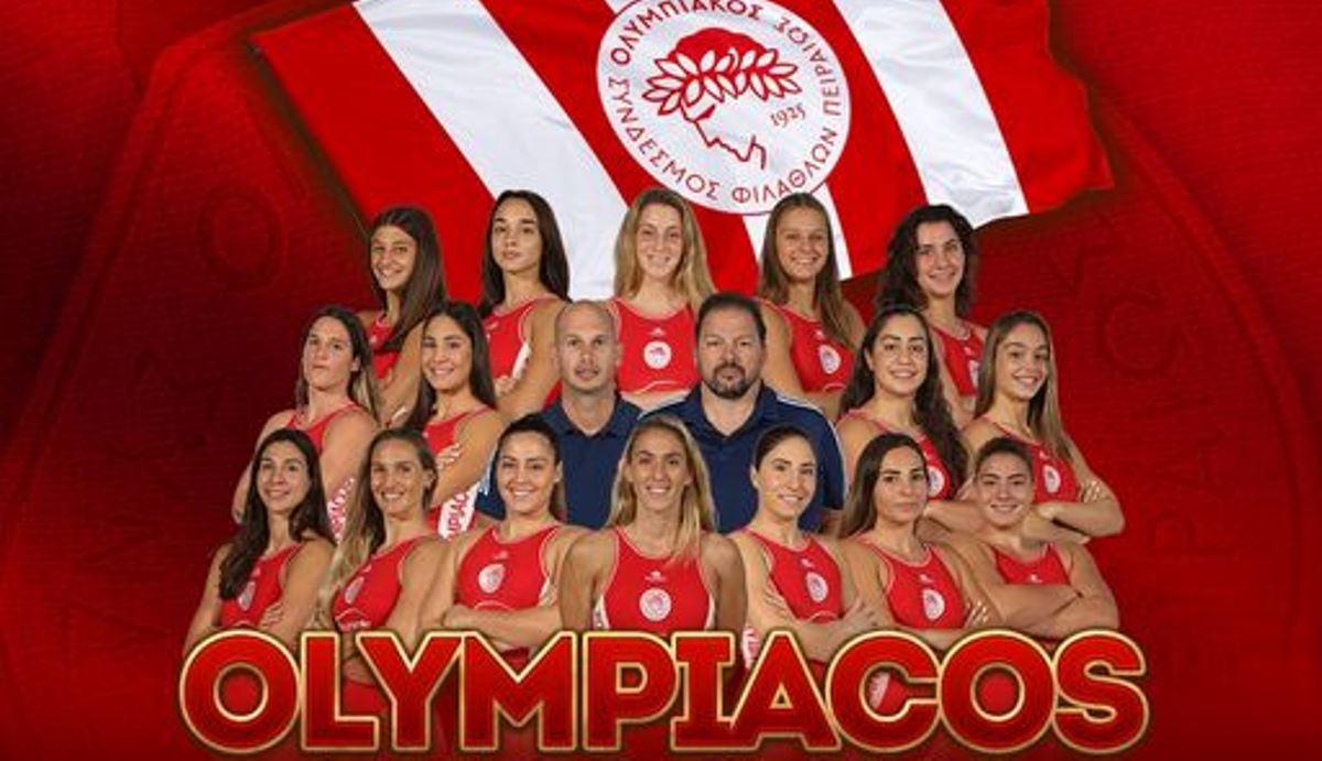 Ολυμπιακός: Συγχαρητήρια από ΠΑΕ και ΚΑΕ στις «γοργόνες» της Ευρώπης