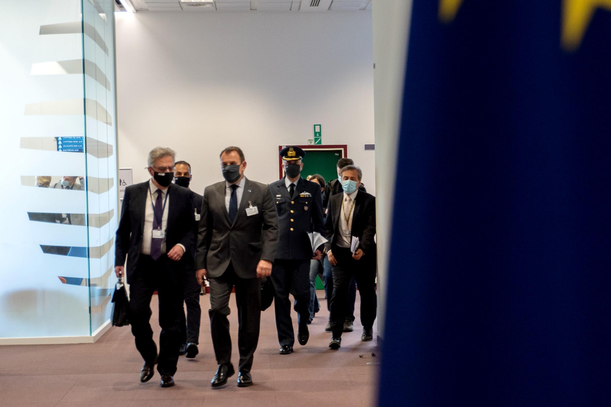 Παναγιωτόπουλος: Τι είπε ο ΥΕΘΑ στην ομιλία του για την Στρατηγική Πυξίδα της Ε.Ε
