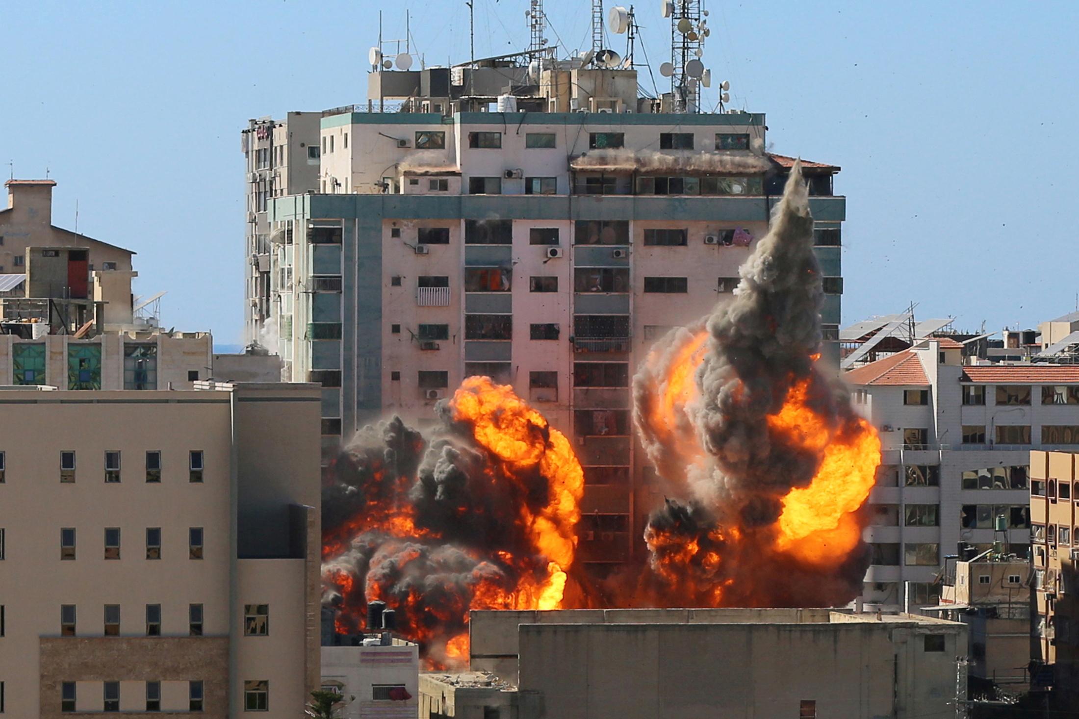 Γάζα: Ο ιδιοκτήτης του κτιρίου των ΜΜΕ προσέφυγε στο Διεθνές Ποινικό Δικαστήριο