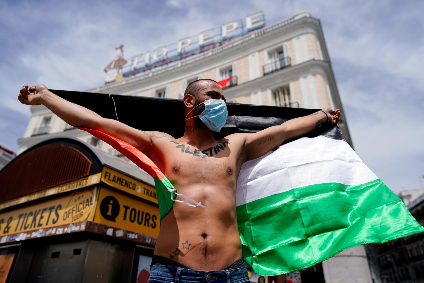 Ογκώδεις διαδηλώσεις στην Ευρώπη για τη Γάζα – Επεισόδια και συγκρούσεις με την αστυνομία (pics)