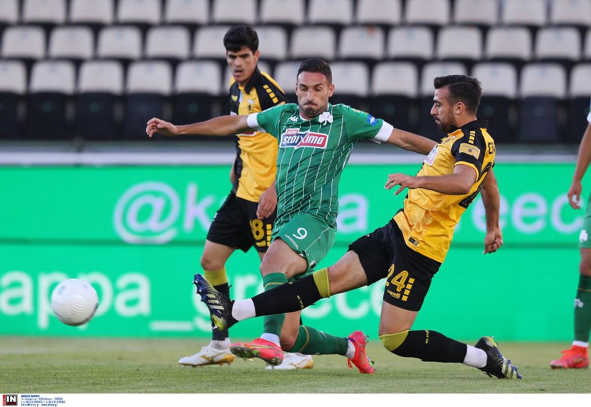 Παναθηναϊκός – ΑΕΚ 0-1 ΤΕΛΙΚΟ: Νίκη Ευρώπης για την Ένωση με πρωταγωνιστές τους Μάνταλο και Μακέντα