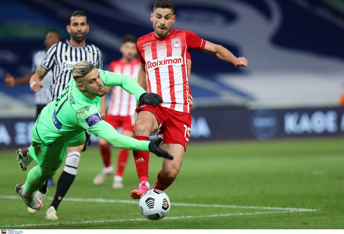 Ολυμπιακός – ΠΑΟΚ 1-2 ΤΕΛΙΚΟ: Κυπελλούχος Ελλάδας με Κρμέντσικ