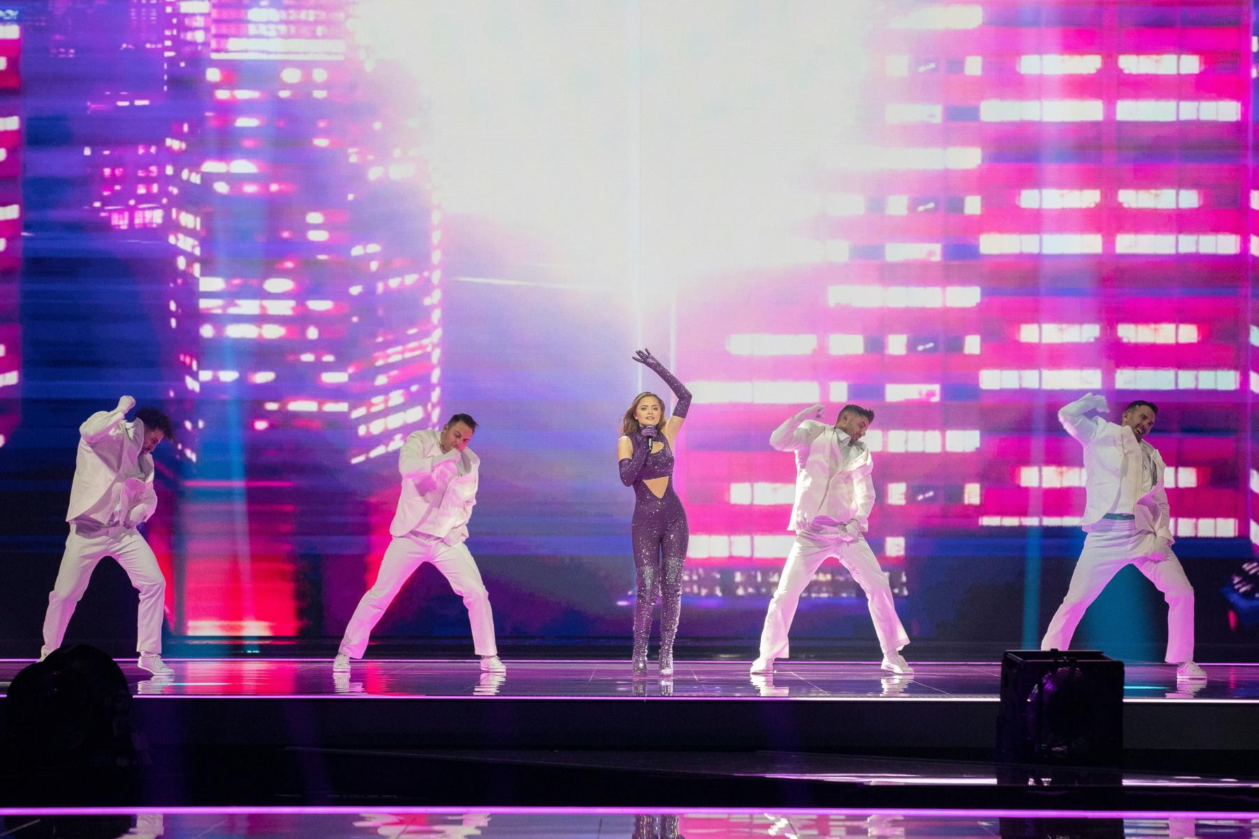 Eurovision 2021 – Stefania: Το μυστικό της εμφάνισης και τα 250.000 κρύσταλλα Swarovski