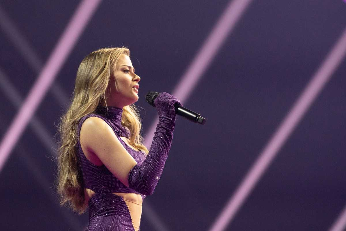 Eurovision 2021: εντυπωσίασε η πρόβα της Στεφανίας