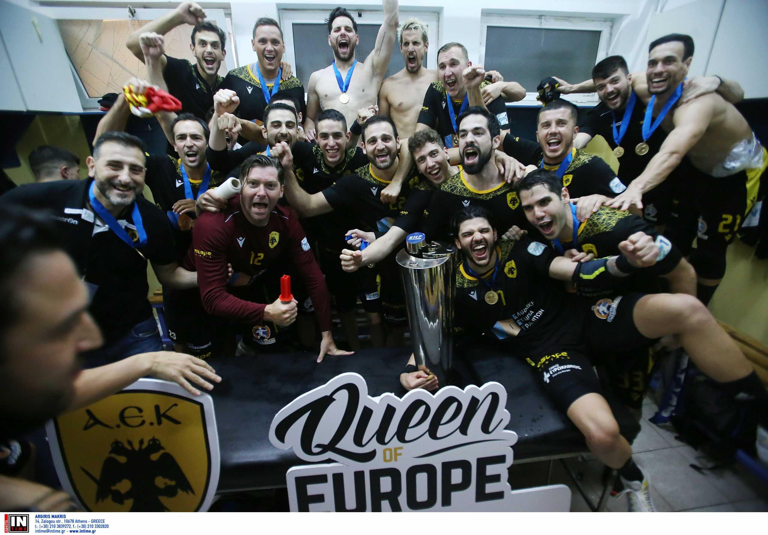 ΑΕΚ: Κατέκτησε την Ευρώπη στο χάντμπολ κι έγραψε ιστορία η Ένωση