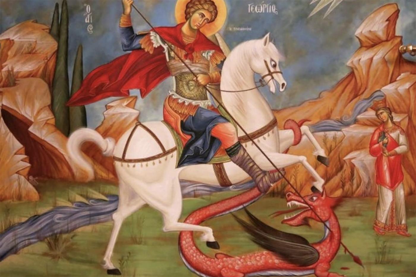 Άγιος Γεώργιος: Γιατί γιορτάζει σήμερα 03 Μαϊου και όχι 23 Απριλίου