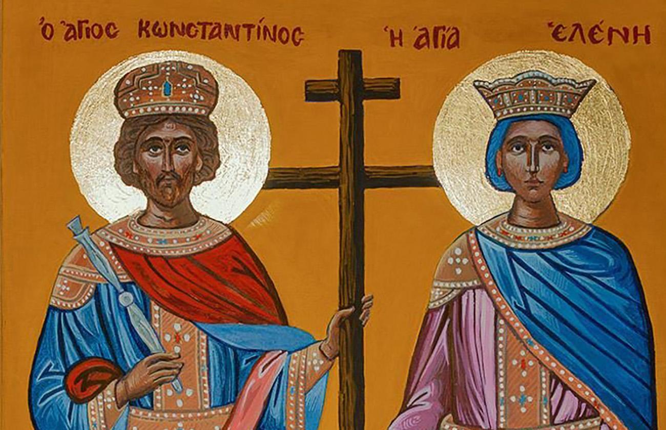 Αγίου Κωνσταντίνου και Ελένης: Στις 21 Μαϊου η μεγάλη γιορτή της Ορθοδοξίας