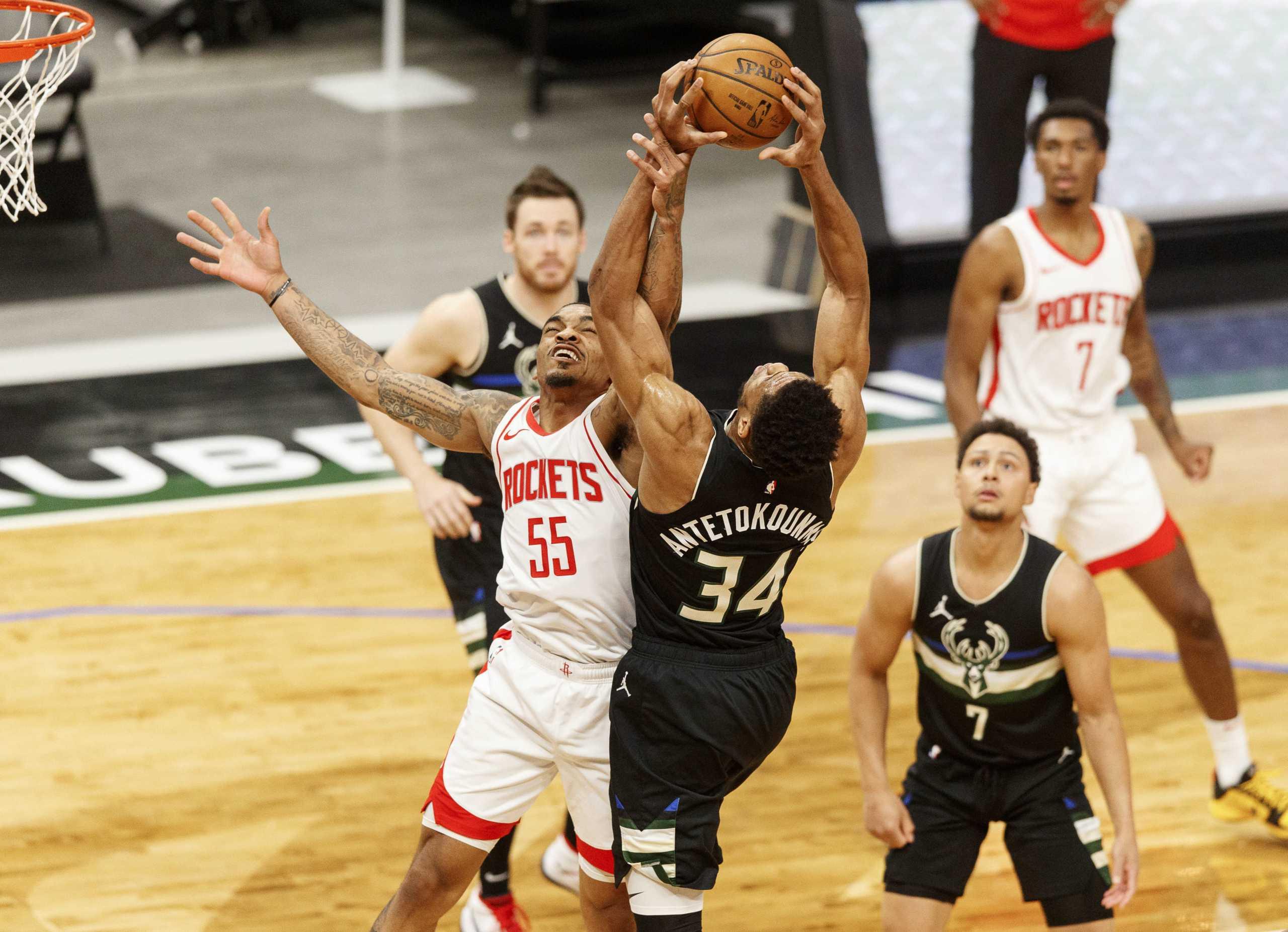 NBA: Άνετη νίκη για Μπακς με «σβηστό» Αντετοκούνμπο