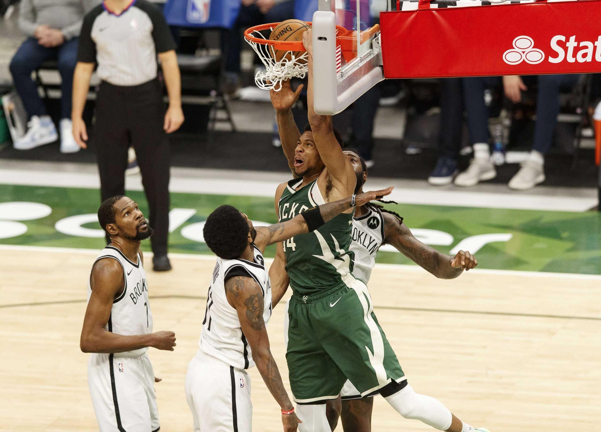Ο Αντετοκούνμπο «κάρφωσε» τον Ντουράντ στο Top 10 του NBA