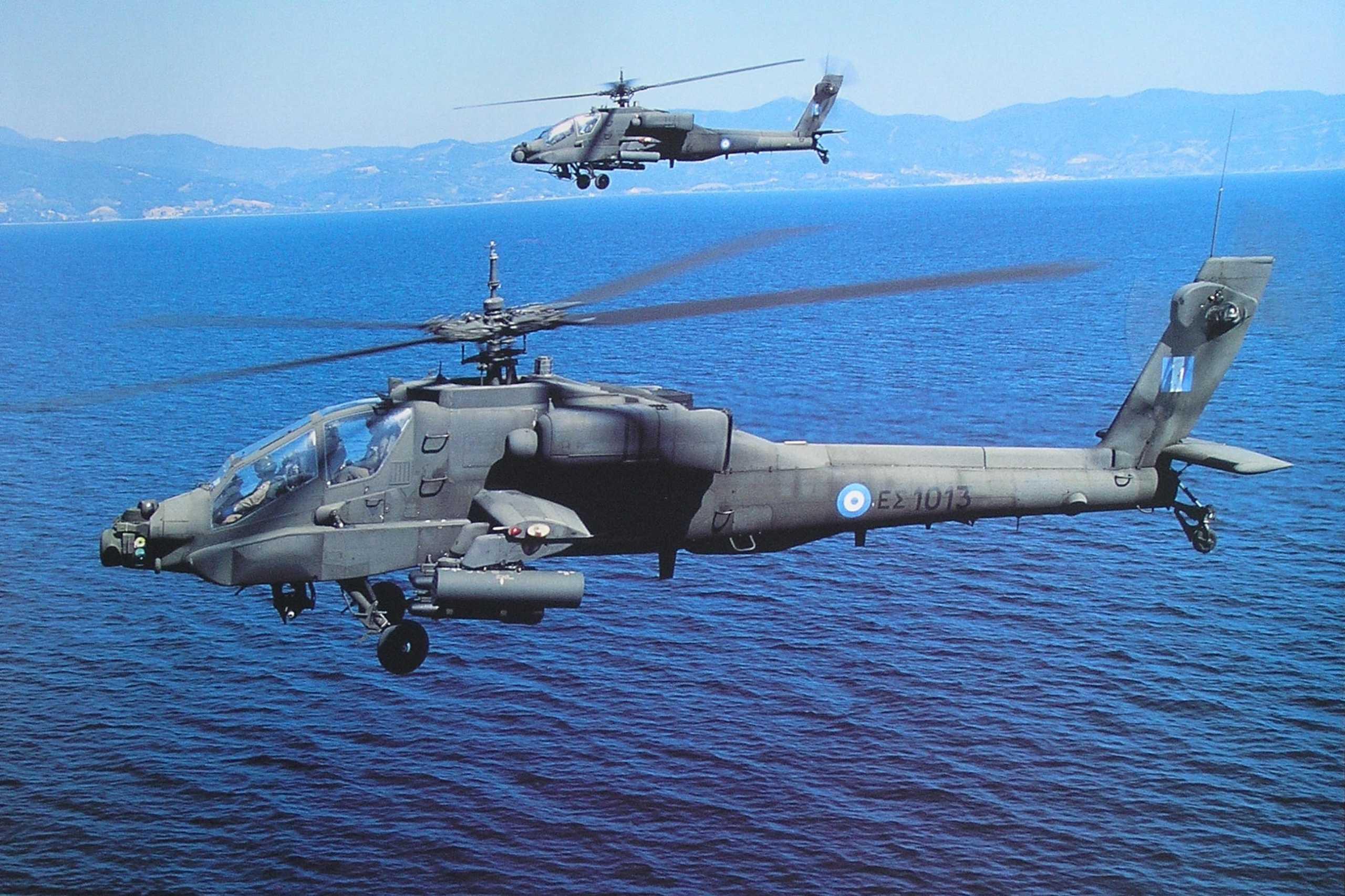 «Έκλεισε» η συμφωνία με Ισραήλ για τα ελικόπτερα Apache και S-70