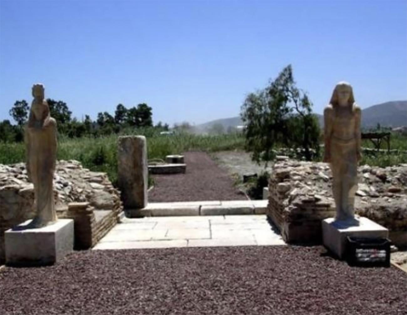 Το ιερό των Αιγυπτίων θεών που βρίσκεται 40 λεπτά από την Αθήνα