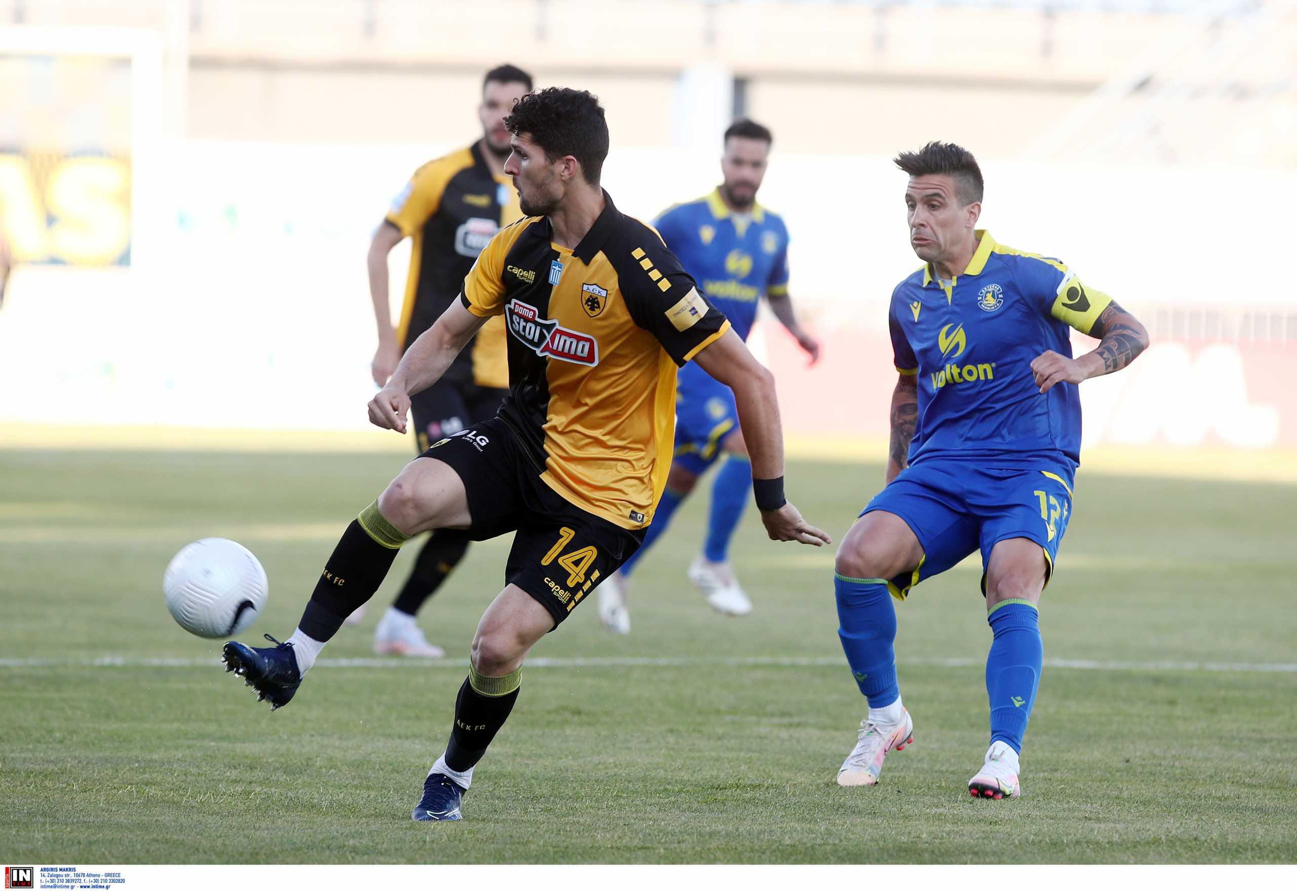 Αστέρας Τρίπολης – ΑΕΚ 1-1 ΤΕΛΙΚΟ!
