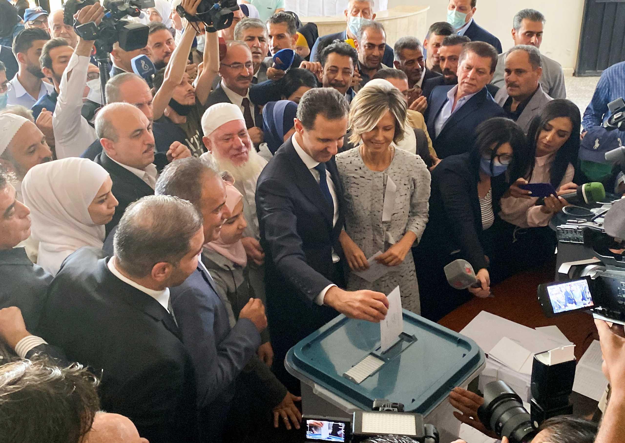 Συρία: Η Ρωσία χαιρετίζει την «πειστική» νίκη του Άσαντ στις εκλογές – Συγχαρητήρια και από Κίνα