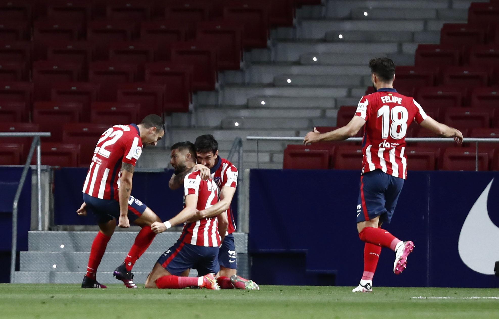 Η Ατλέτικο Μαδρίτης έκανε «βήμα» τίτλου στην Ισπανία