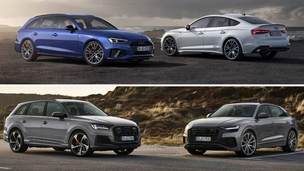 Η Audi αναβαθμίζει τα A4, A5, Q7 και Q8 (pics)
