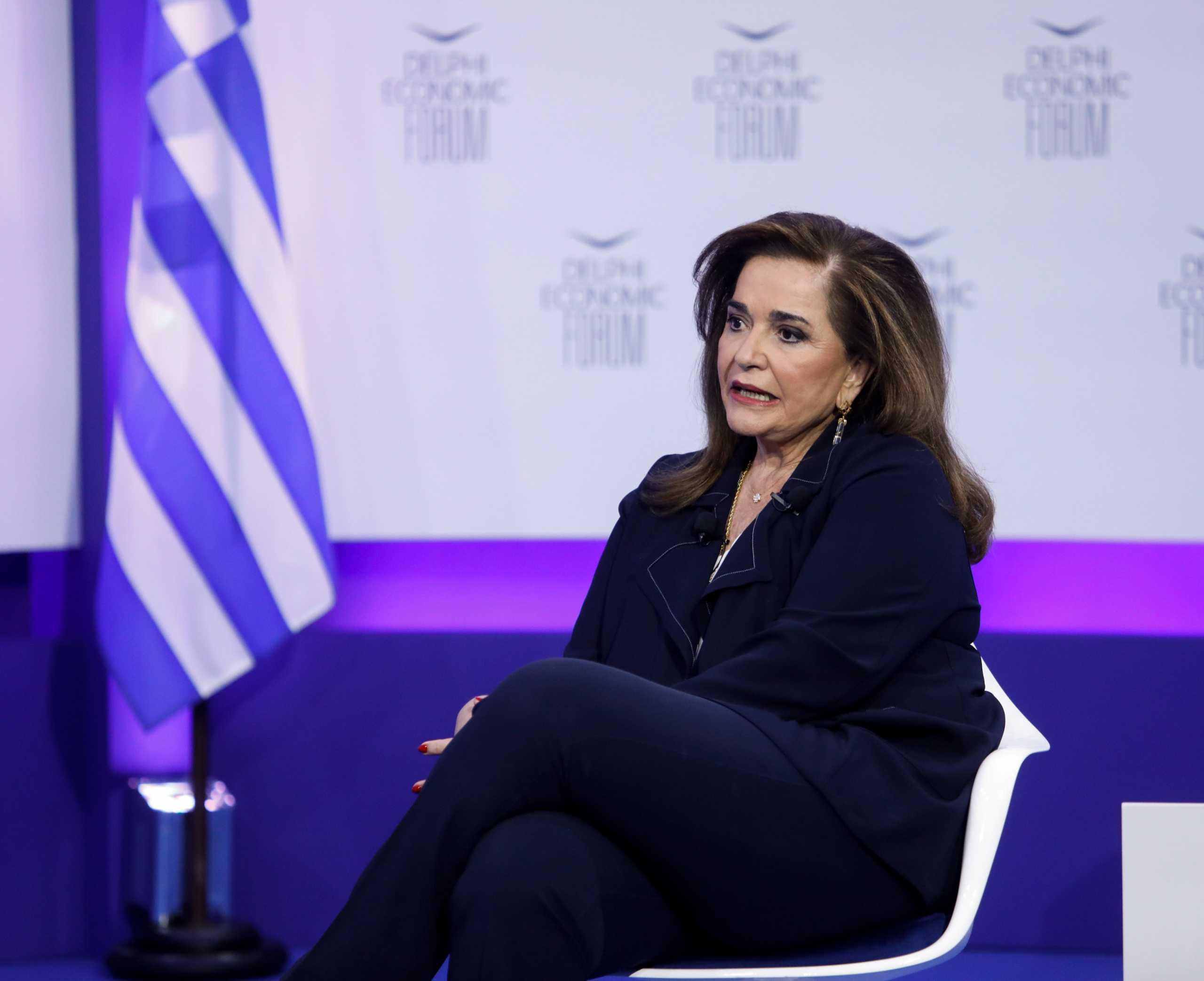 Μπακογιάννη στο Οικονομικό Φόρουμ Δελφών: «Η αλλαγή στάσης της Τουρκίας δεν επιτρέπει αισιοδοξία στο Κυπριακό»