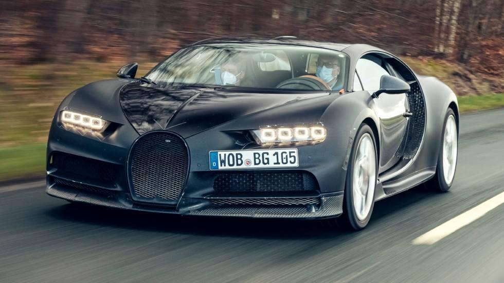 Bugatti Chiron βγαίνει… στη σύνταξη με μόλις 74.000 km στο οδόμετρό της! (pics)