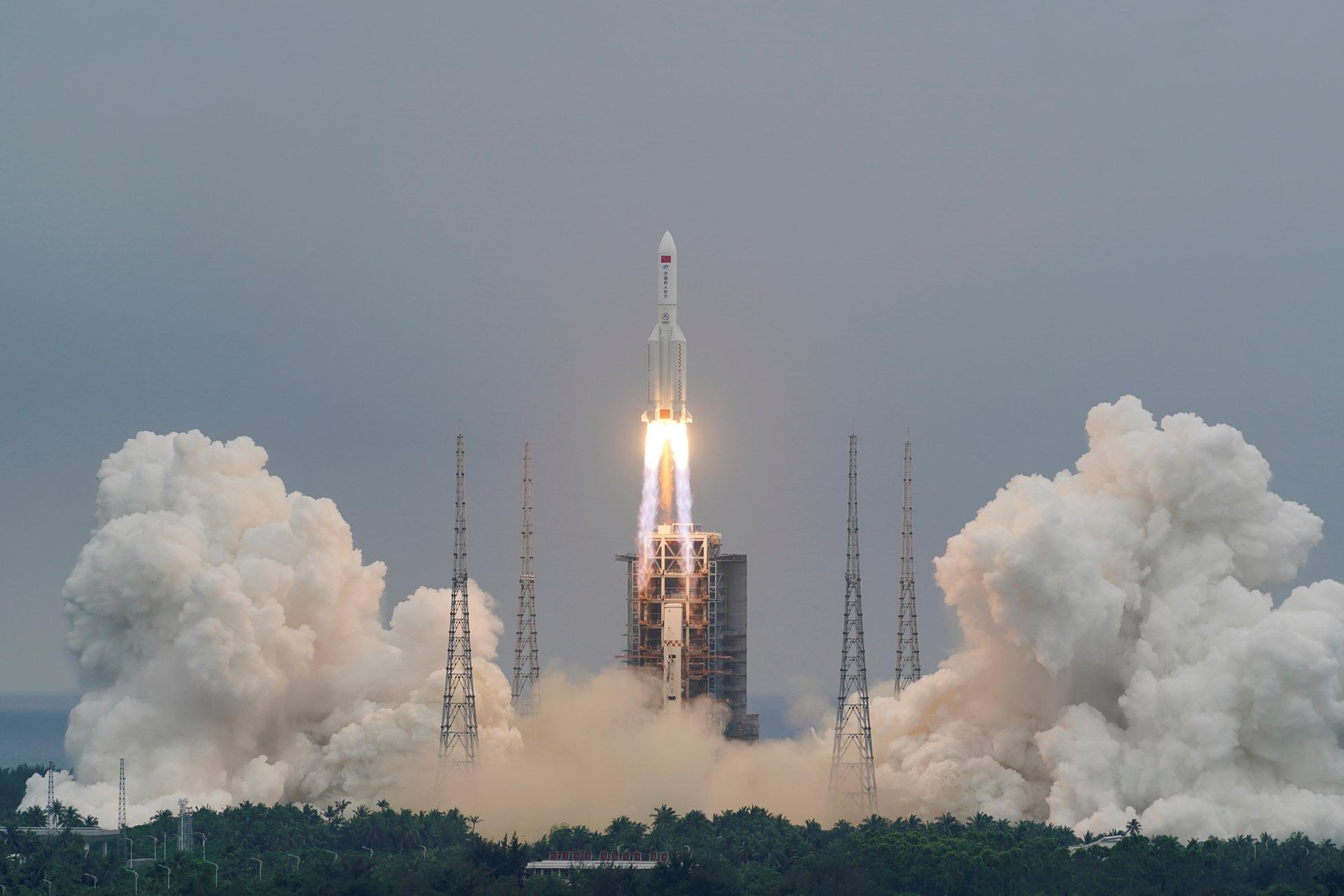 Κινέζικος πύραυλος: Τα συντρίμμια του έπεσαν στον Ινδικό Ωκεανό