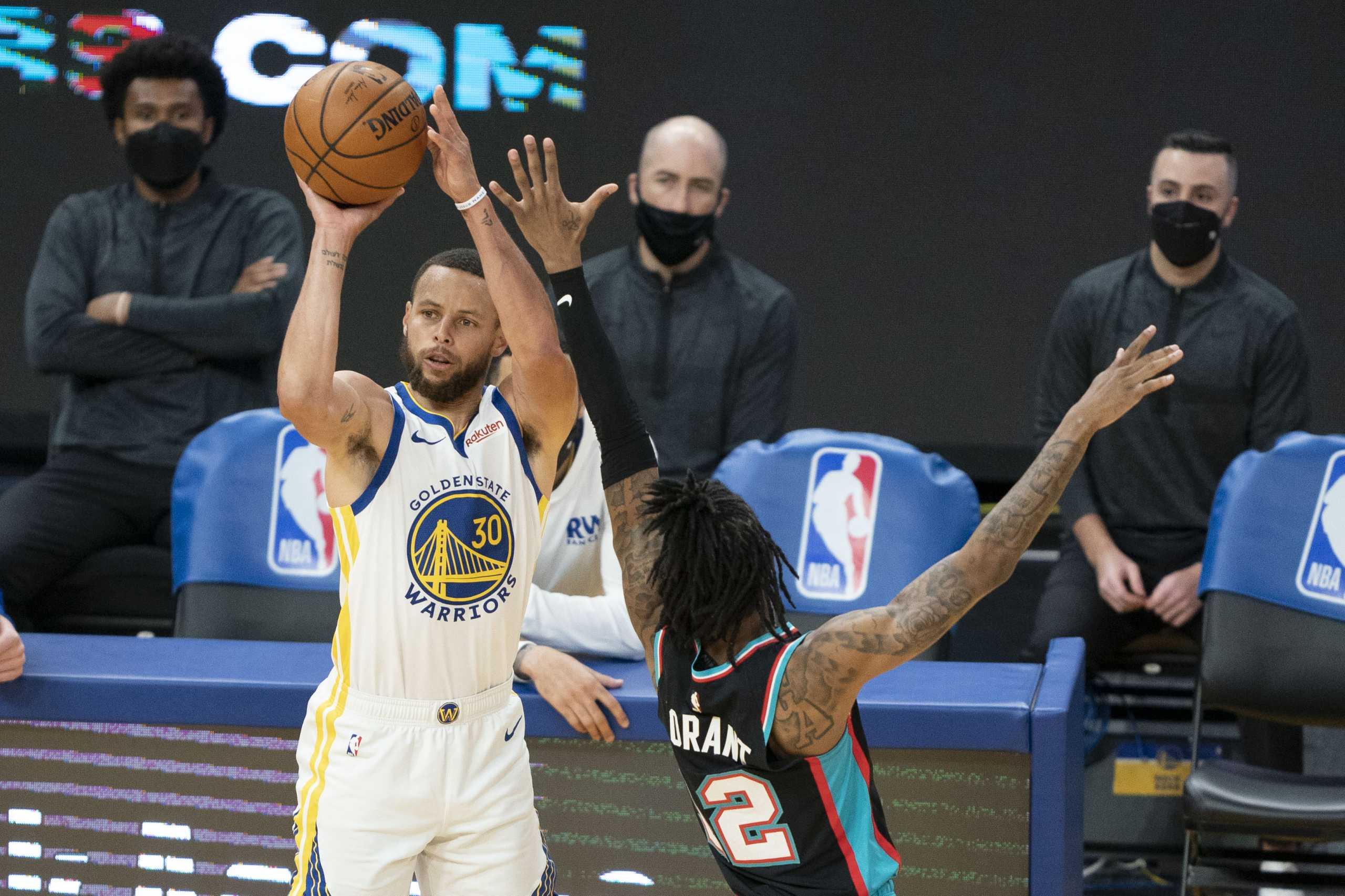 NBA: Πρώτος σκόρερ ο Κάρι για δεύτερη φορά στην καριέρα του