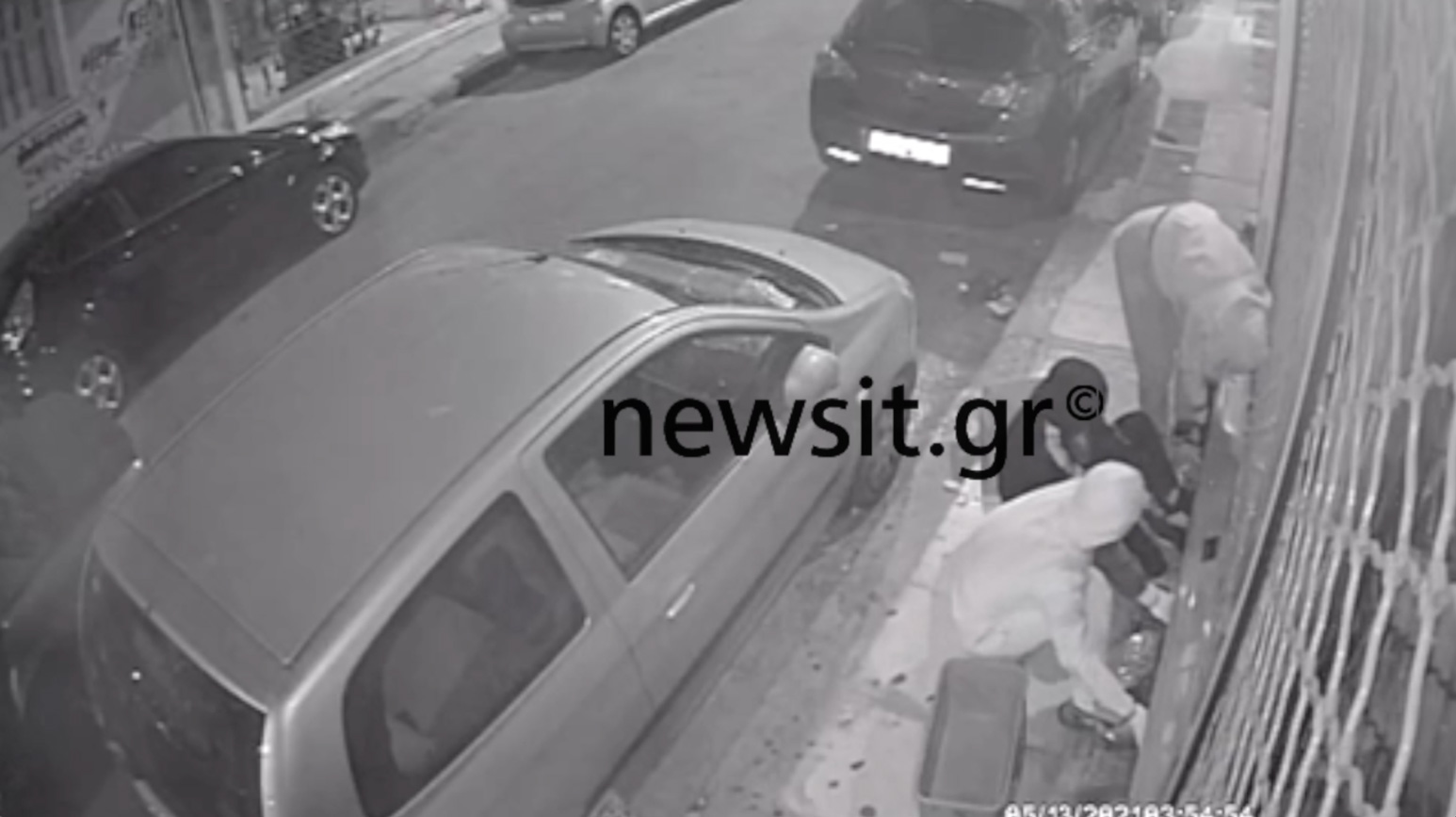 Βίντεο ντοκουμέντο πριν από την άγρια καταδίωξη στο κέντρο της Αθήνας