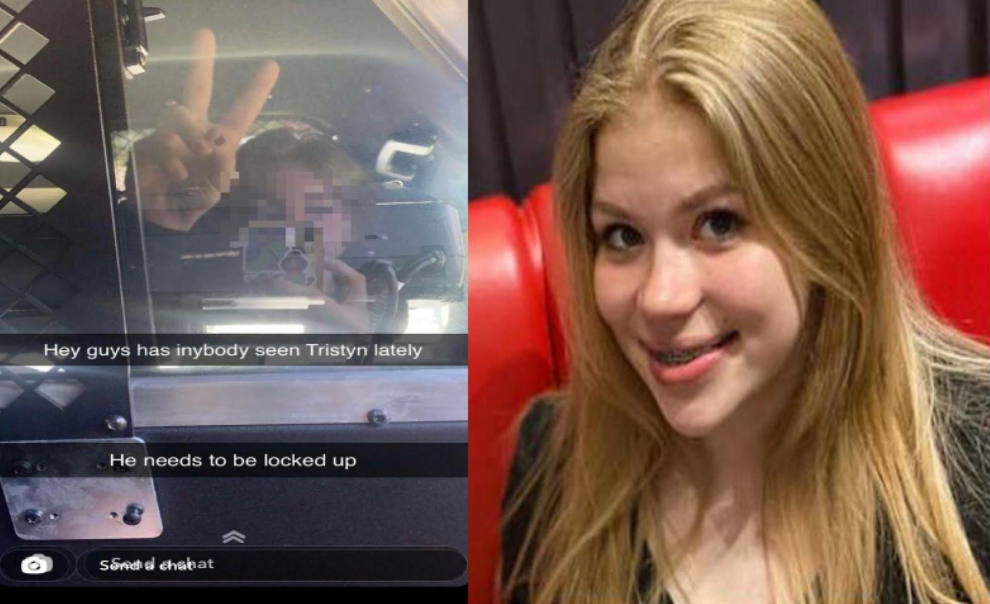 Σκότωσε 13χρονη και έβγαλε selfie μέσα από το περιπολικό – Η εξοργιστική ανάρτηση του δολοφόνου