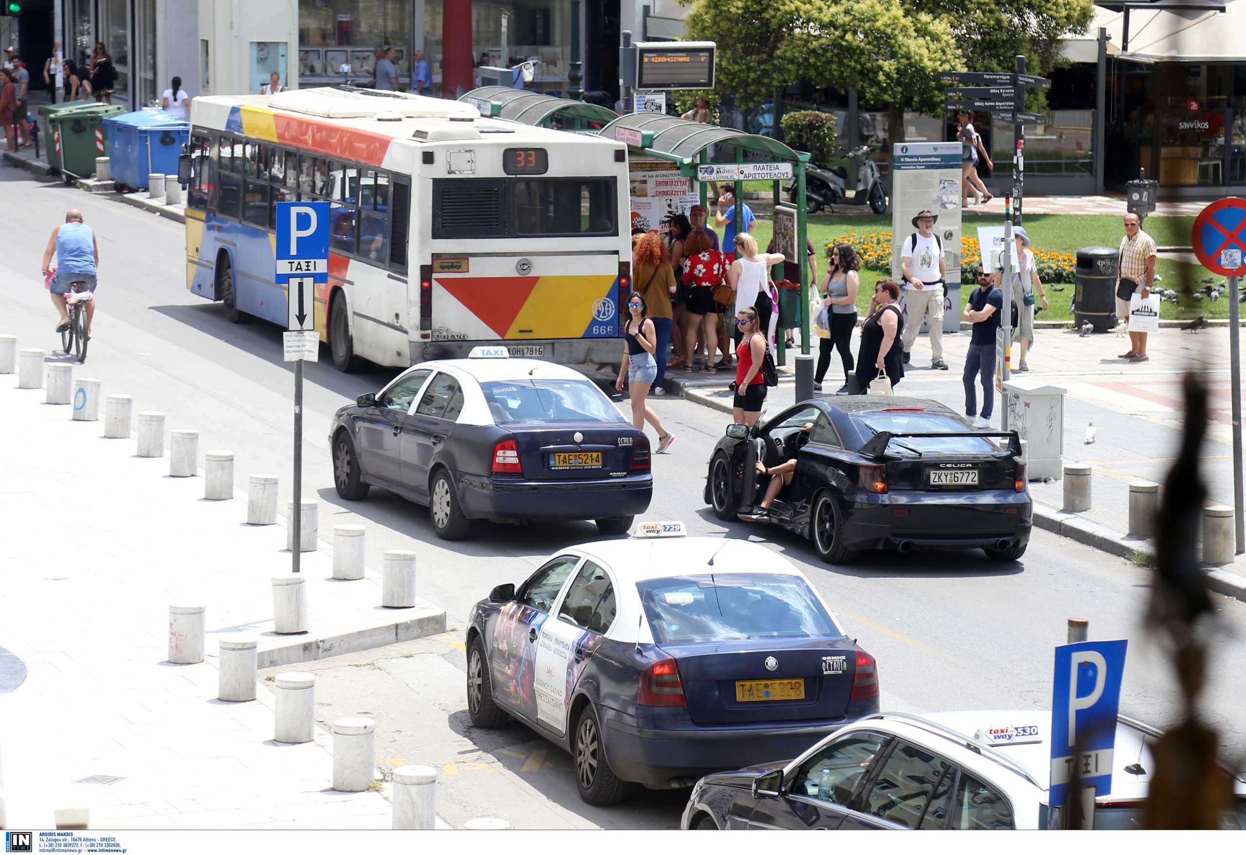 Θεσσαλονίκη: Οι γερανοί ξανάρχονται – Κυκλοφοριακά εμφράγματα στο κέντρο  (video)