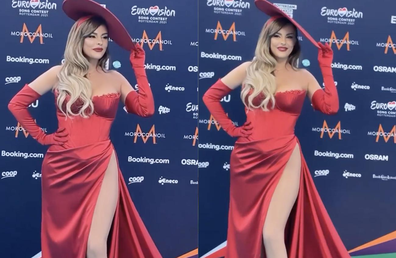 Eurovision 2021 – Άντζελα Περιστέρη: Το σκίσιμο στο φόρεμα που έκλεψε τις εντυπώσεις