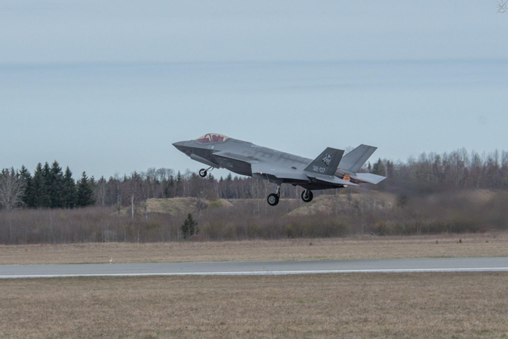 F-35: Έγραψαν ιστορία οι ιταλικές stealth «Καταιγίδες» σε αναχαίτιση Ρώσων!
