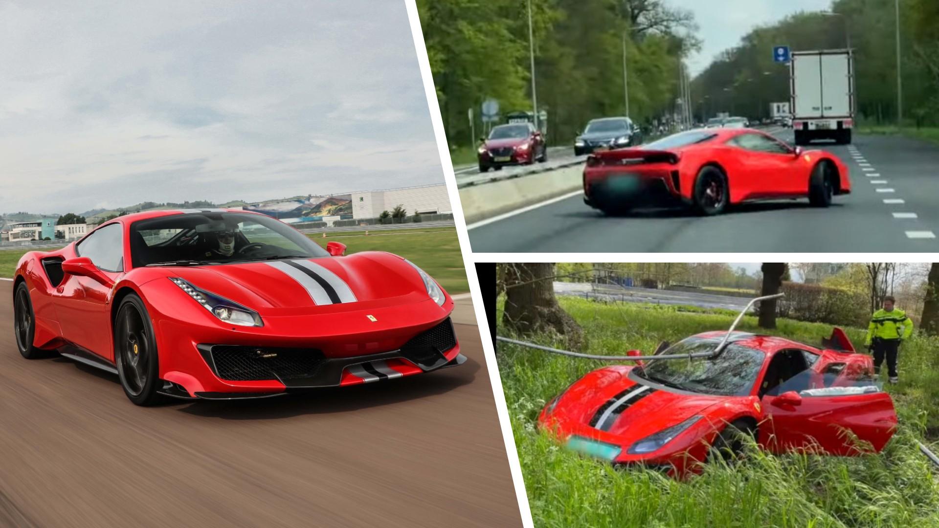 Πώς να καταστρέψεις μια Ferrari με… μια μόνο γκαζιά (video)