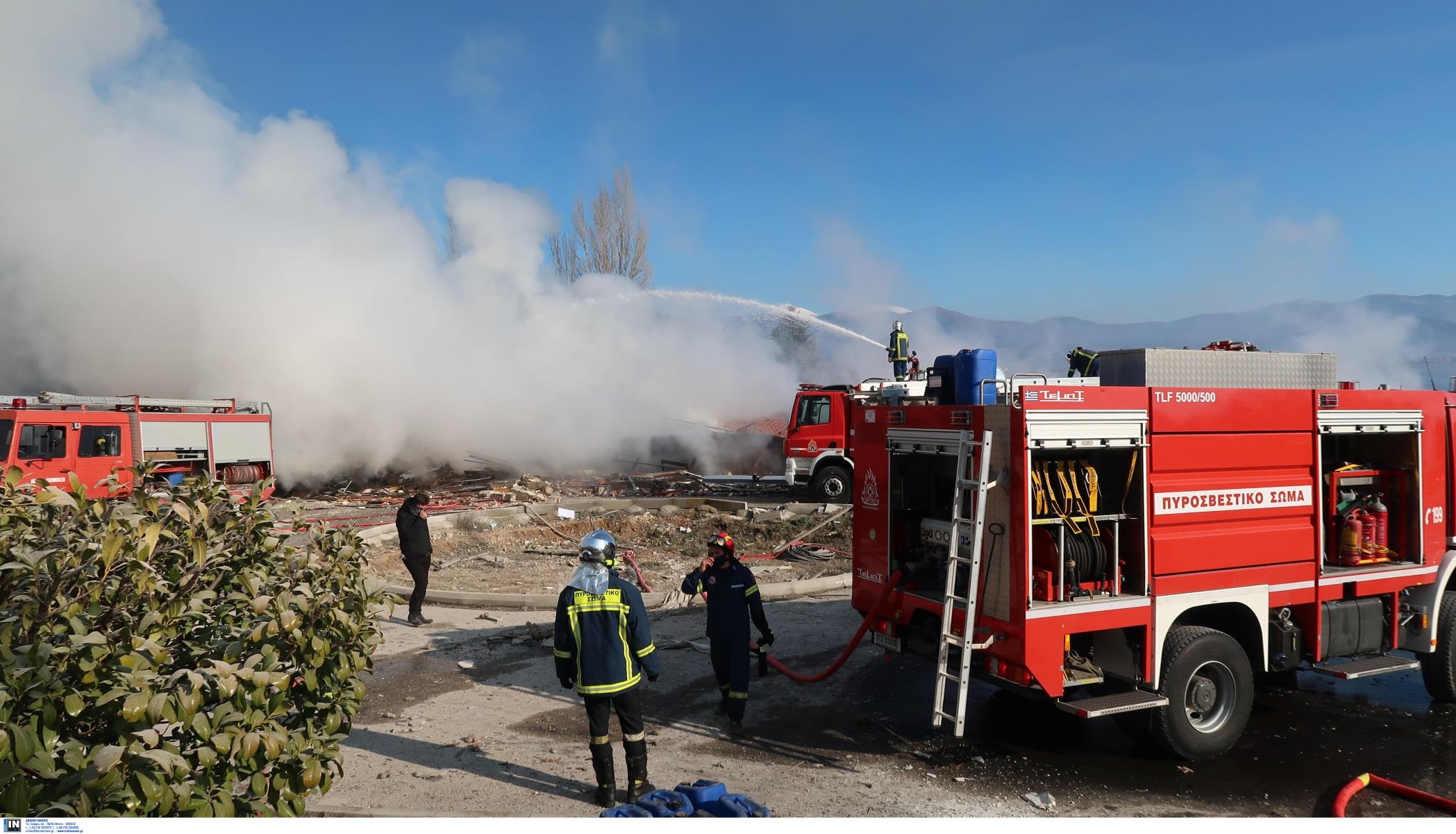 Ηράκλειο: Πήγαν να σβήσουν τη φωτιά, αλλά αναγκάστηκαν να γυρίσουν πίσω