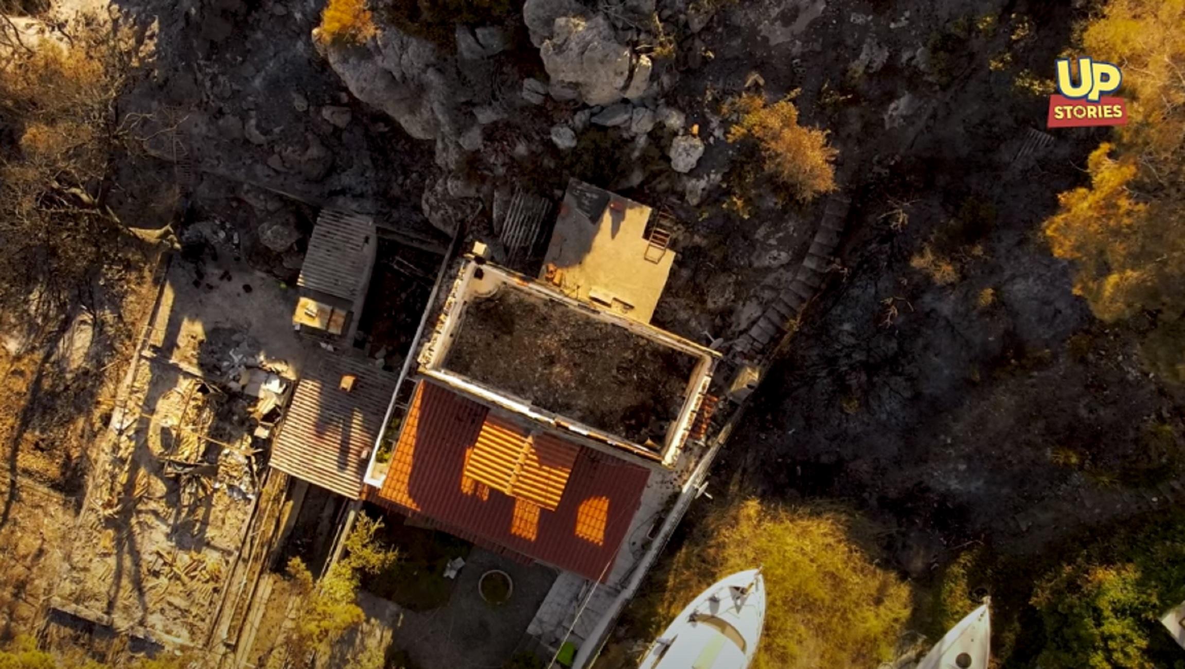 Φωτιά στον Σχίνο: Το πριν και το μετά της οικολογικής καταστροφής – Βίντεο από drone που καθηλώνει