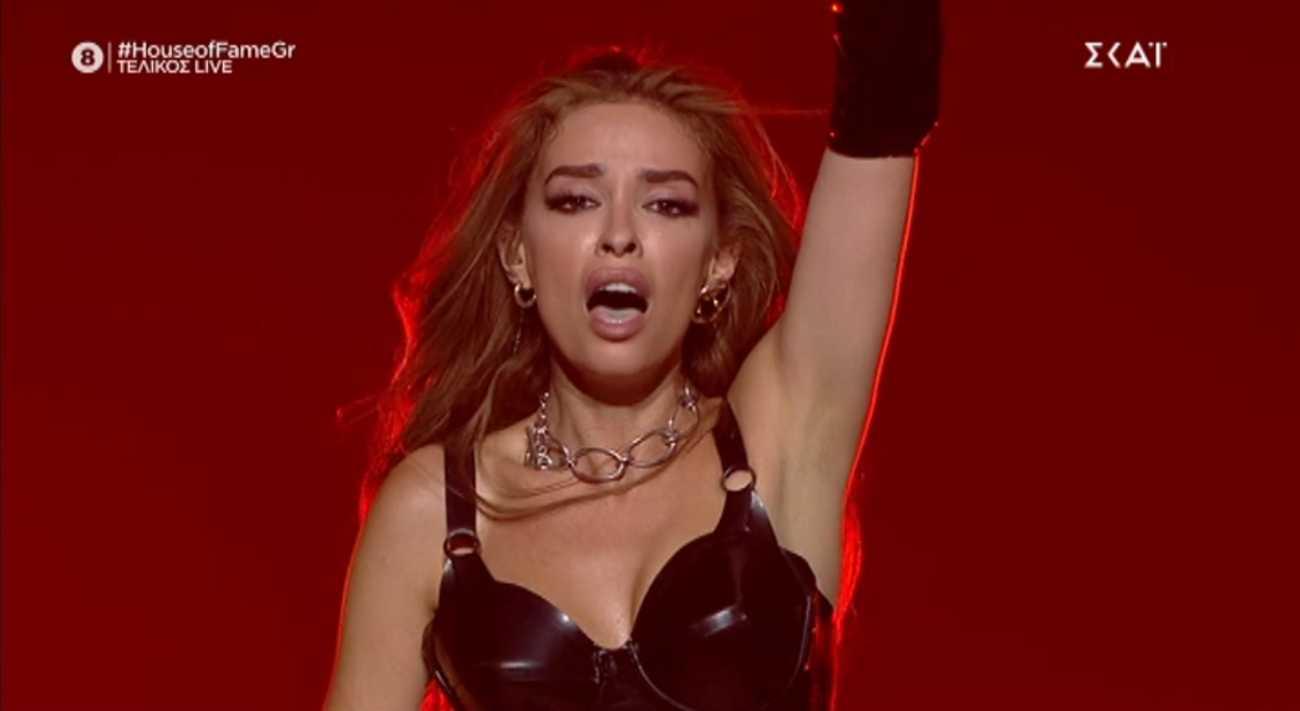 Σκέτη κόλαση η Ελένη Φουρέιρα στον τελικό του House of fame