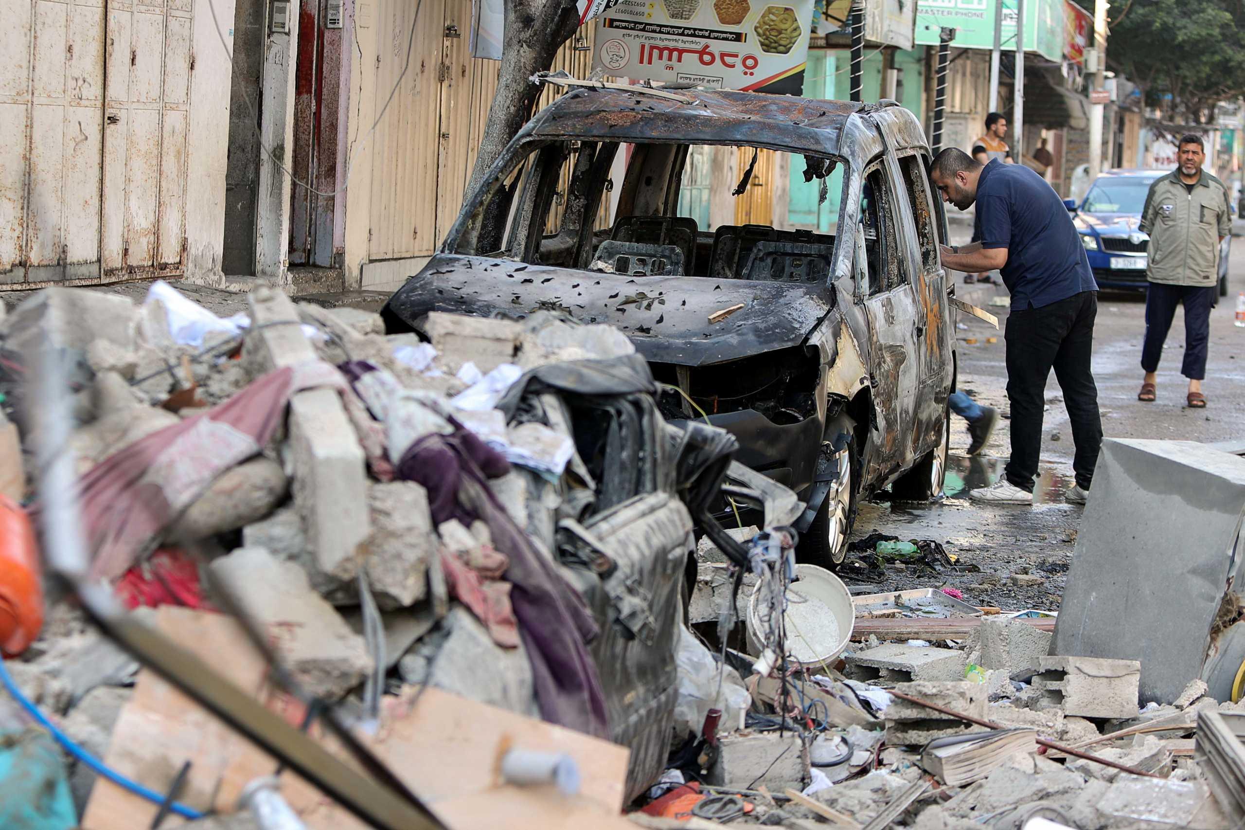 Λωρίδα της Γάζας: Συνεχίζονται οι αεροπορικοί βομβαρδισμοί – Σχέδιο απόφασης της Γαλλίας στον ΟΗΕ