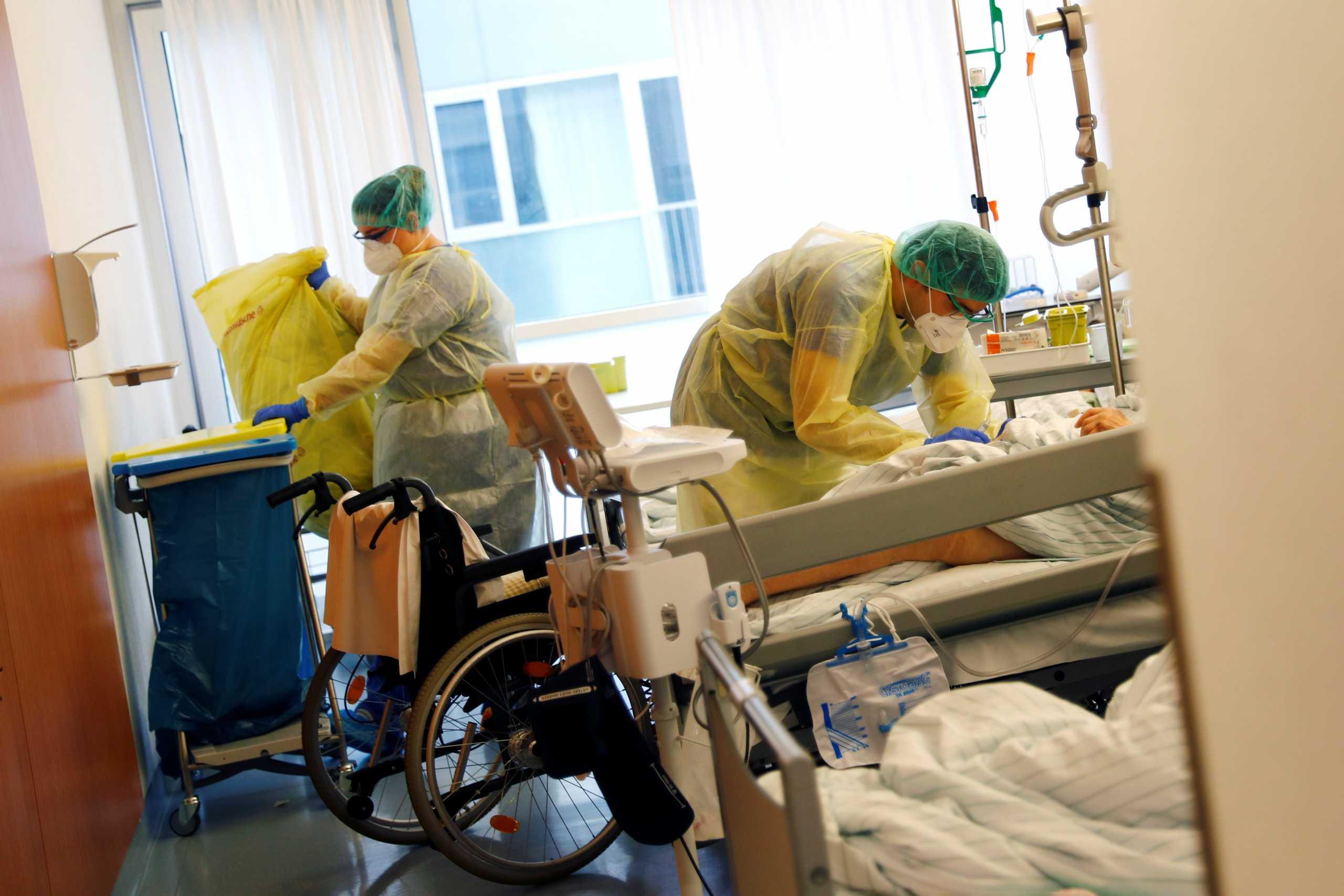 Γερμανία: 1.076 κρούσματα κορονοϊού και 91 νεκροί σε ένα 24ωρο