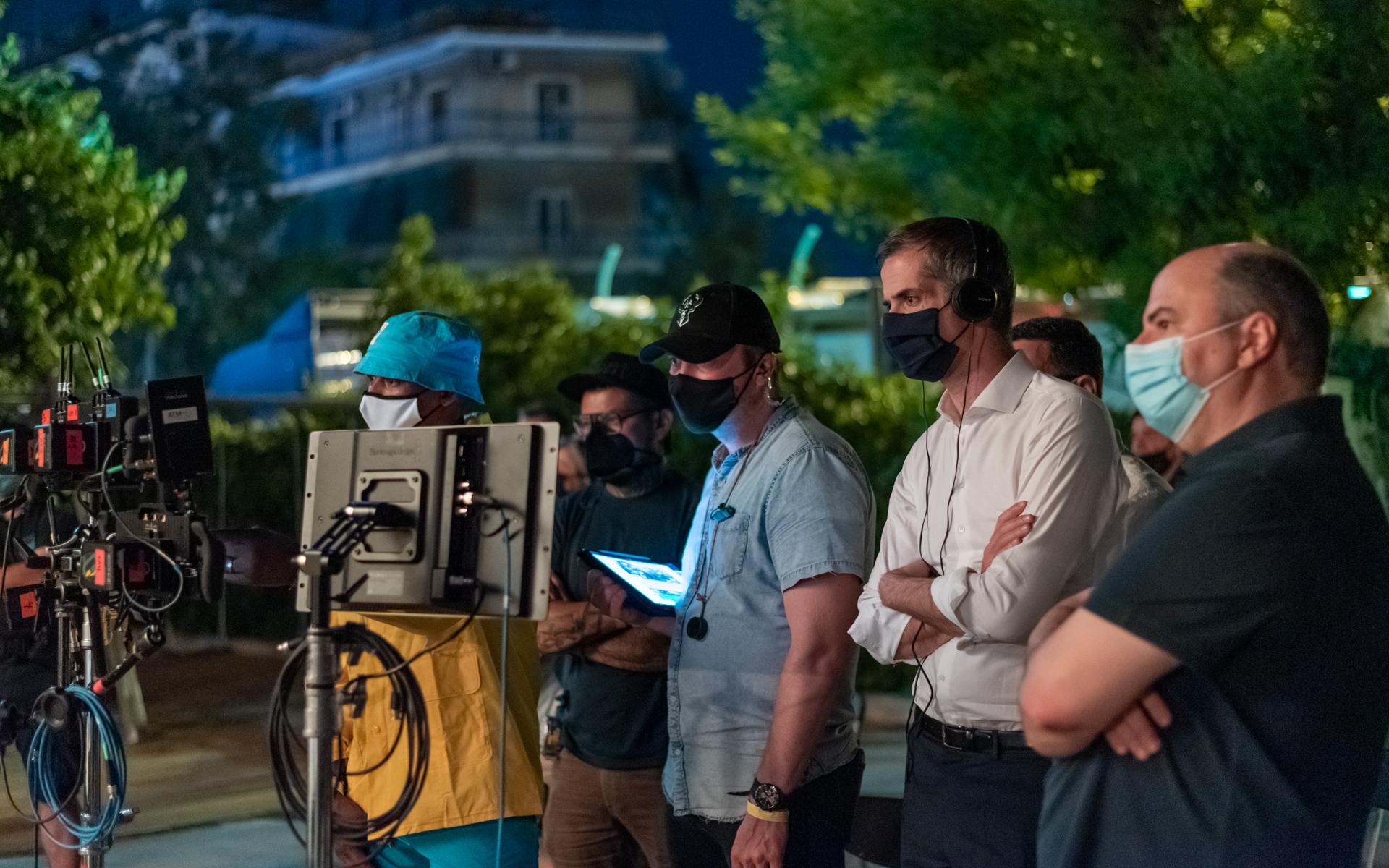 Κώστας Μπακογιάννης: Στα γυρίσματα της ταινίας «GreekFreak» για την ζωή του Γιάννη Αντετοκούμπο (pics)
