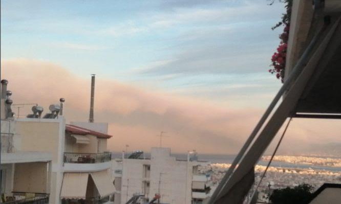 Υπουργείο Υγείας: Οδηγίες για την αντιμετώπιση του καπνού από την πυρκαγιά στην Κόρινθο – Τι να κάνουν οι ασθενείς